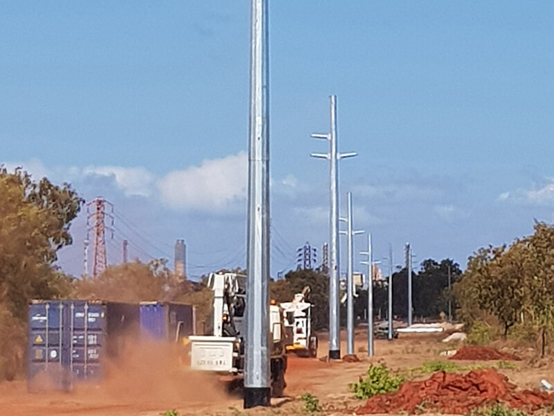 Gateway Energy Previous Project Gove Operations Transmission Line Replacement