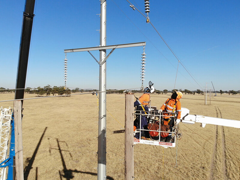 Gateway Energy Previous Projects 99F Transmission Line Replacement NSW